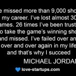 Michael Jordan - Fail to Succeed