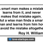 Learn From Mistakes - Roy H. Williams