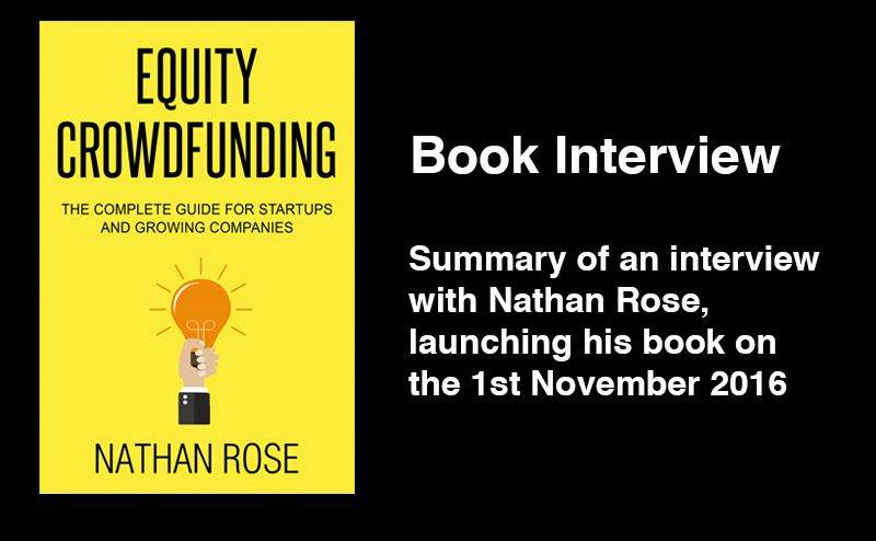 equity crowdfunding book interview