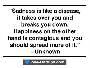 Sadness and Happiness