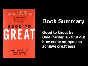 Good to Great book summary