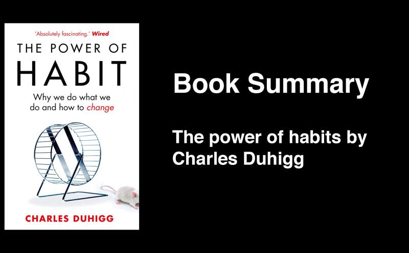 The power of habits book summary