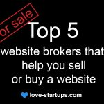 Top 5 website brokers that help you sell or buy a website